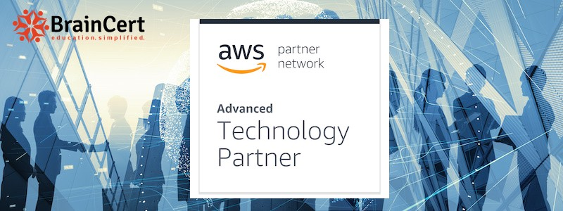 BrainCert Achieves Advanced Technology Partner Status in Amazon Web Services Partner Network