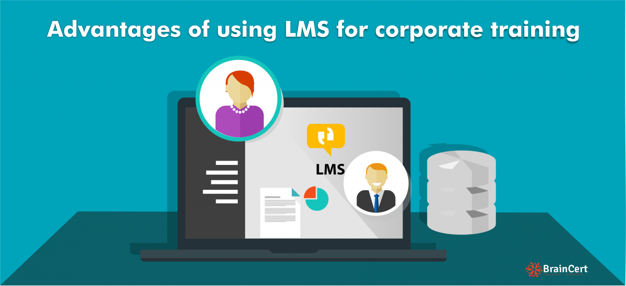 Advantages of using LMS for corporate training
