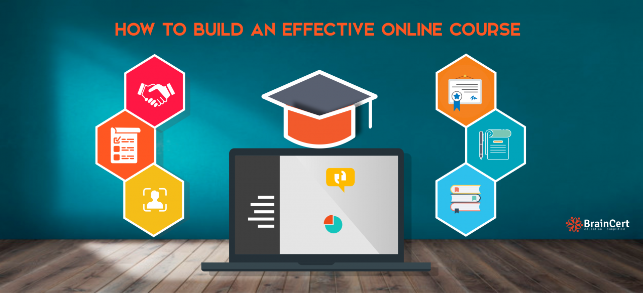 How to build an effective online course